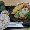 マキノ高原温泉さらさ - 料理写真:ぶっかけそば定食