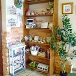 カフェ アオソラ - 手作りの雑貨なども販売しています。