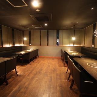 人気の高いVIPな完全個室完備!