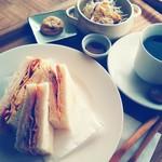 カフェ アオソラ - サンドイッチセット