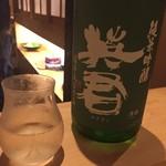鳳 - 日本酒ですね。福井のエイクン。