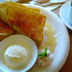 カフェ アオソラ - はちみつトースト