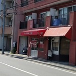 ラーメン専門店 大輝 - バス停から見えました。 2016.7