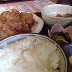 54335431 - チキン南蛮定食。