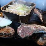 焼肉縁結 - ラムハーブステーキ