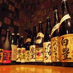 東京焼酎&梅酒bar GEN&MATERIAL - プレミアム焼酎や有名銘柄もりもり