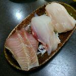 黒潮丸 - びっくりすし(3コ)500円