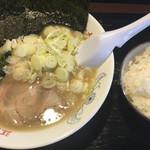 江戸川ラーメン 烈幸 - ねぎラーメン(並) ¥830 + ライス 無料