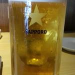 なまはげや - ほろ酔いセットの生ビールは通常530円!