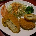 食堂 天保 - 料理写真:白エビコロッケ