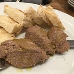 マカロニ - 鶏レバーのパテ