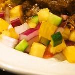 ヌワラカデ - NUWARAプレート(野菜とパイナップルの酢漬け)