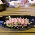 恵比寿 箸庵 - 鴨たたき