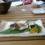 恵比寿 箸庵 - 鮎の一夜干し