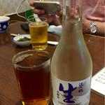 54346866 - ウーロン茶と生冷酒