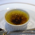 レストラン シャルム - グリーンアスパラガスのブリュレ