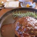 食の工房 キッチン倶楽部 - 料理写真:ハンバーグ定食(950円)