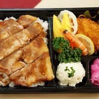 ル・タブリエ - 洋食屋さんのトンテキ弁当 ¥1,000