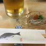 54350820 - 2016.08 まずはビールをごくごく飲みたい! 白魚とともに