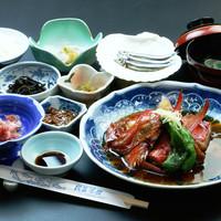 民芸茶房 - 煮魚定食(2160円)