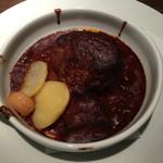 ワインレストラン ドミナス - フォアグラ包みハンバーグ・赤ワインソース