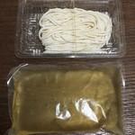 54352821 - うどん(生麺)&スープ