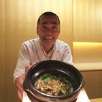 神楽坂 石かわ - 2016/7_焼き穴子と山椒ご飯