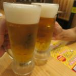 54358769 - モルツ生¥280で乾杯