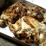 54358911 - 若鶏塩焼(半身)。