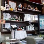 郷土料理 奈辺久 - 店内…赤塚先生のサインあります(ありがたや)