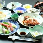 民芸茶房 - おまかせコース(3240円)