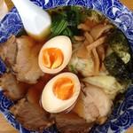 54360018 - チャーシュー麺+ワンタン+味玉850円