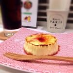 炭火焼肉たむらのお肉が入ったカレー屋さん - NYチーズケーキ(キャラメリーゼ)