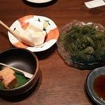個室 いもんちゅ - 豆腐よう、ジーマーミ豆腐、海ぶどう