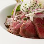 肉×魚×日本酒 照 - 『牛の欧風カルパッチョ』