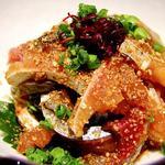 肉×魚×日本酒 照 - 『九州名物胡麻サバ』