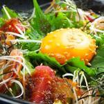 肉×魚×日本酒 照 - 『鮮魚の海鮮ゆっけ』
