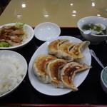 東瀧餃子宴 - 黒豚餃子(850円)