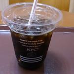 ケンタッキーフライドチキン - 深煎りリッチアイスコーヒー(S)190円