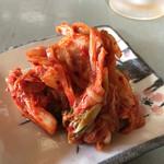 岡ちゃん - 自家製キムチは好みの味