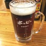 立ち飲み とっちゃん - 三冷ホッピー黒。