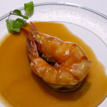 54367307 - 大海老の炒め 紹興酒の香り