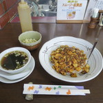 好好 - 料理写真:麻婆豆腐丼