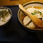 54369172 - スープ餃子とご飯