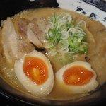 麺やながしろ - 元味、煮卵トッピング