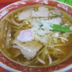 中華のカトウ - チャーシューメン(アップ)