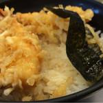 坂町の天丼 - 天丼650円