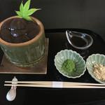 叶 匠寿庵 - 料理写真:わらび餅 ¥1080