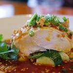 四川料理 巴蜀 - 巴蜀口水鶏断面図
