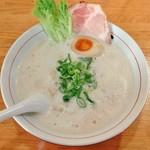 らーめん さのまる - 鶏パイタンエスプーマ・塩(770円)